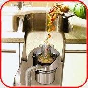 Картинка. Установка измельчителя пищевых отходов в квартире, коттедже или офисе в Казани